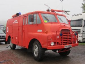 BEDFORD 4X4 FIRE TRUCK