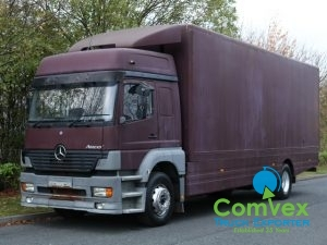 UK Truck Export Mercedes 1823 Boxvan for sale comvex
