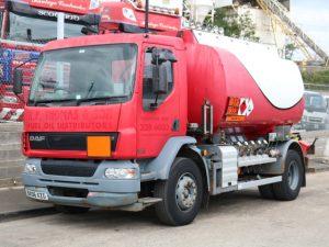 DAF LF55.220 13,000L FUEL TANKER (2006)