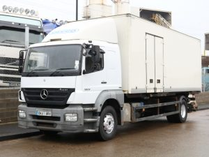 MERCEDES AXOR 1824 24FT BOXVAN (2007)