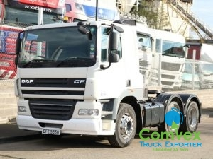 UK Truck DAF CF85.460 Manual Tractor Unit 6x2 for Sale Export 2010 for sale