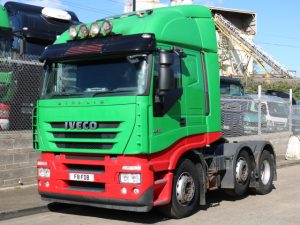 IVECO STRALIS 450 6X2 MANUAL (2007)