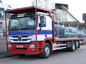 MERCEDES ACTROS 2541 6X2 FLATBED (2010)