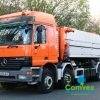 Mercedes Actros 3236 8x4 HHVIDTVED LARSEN Vacuum Tanker 2004 for sale comvex