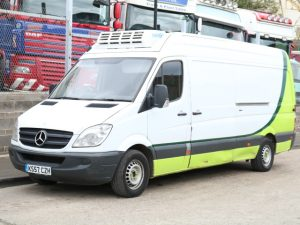 MERCEDES SPRINTER 313 FREEZER (2008)