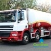 UK Truck Export DAF CF85.380 8x4 25,000L Fuel Tanker for sale comvex 2008