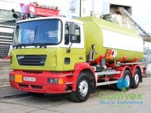 ERF ECS 6X2 19,000L FUEL TANKER (2002)