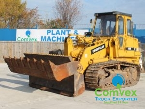 CAT 963B Tracked Shovel for sale export uk comvex