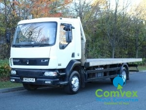 UK Truck Export DAF LF55.180 Flatbed Import Zambia Zimbabwe Malawi for sale comvex