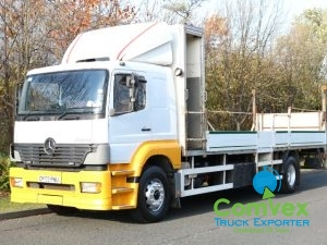 UK Truck Export Mercedes 1823 Dropside for sale comvex