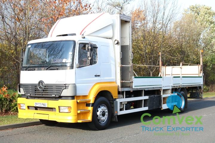 UK Truck Export Mercedes 1823 Dropside for sale comvex