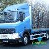 Volvo FH12.380 Version 1 Flatbed Sleeper Rearlift 6x2/4 For Sale Export Comvex UK