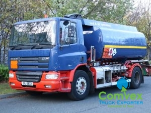 UK Truck Export DAF CF65.250 Fuel Tanker Bowser for sale