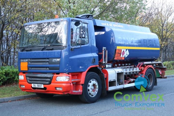 UK Truck Export DAF CF65.250 Fuel Tanker Bowser for sale