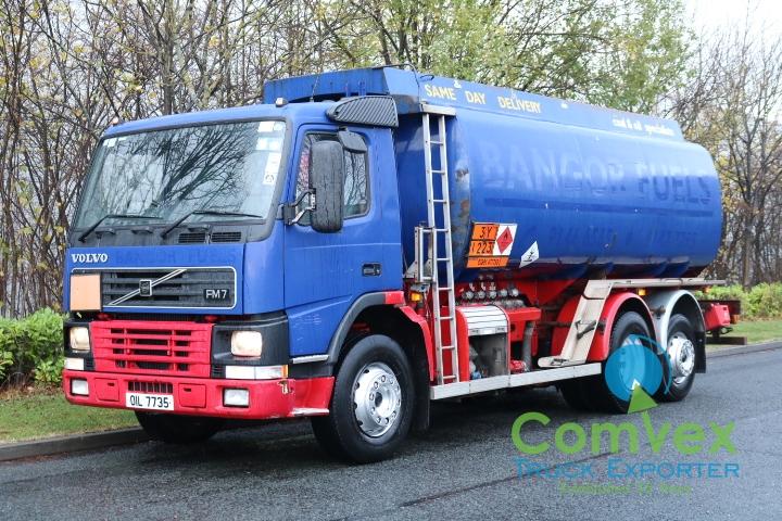 Volvo FM7.290 20,000 Litre Fuel Tanker for sale Comvex Zambia
