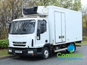 Iveco Carrier Supra 550 Freezer Frdige truck for sale comvex UK