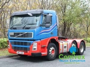 Volvo FM13.440 6x2 Tractor Unit for sale comvex UK zambia
