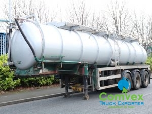 Bale VTS 26,000L Vacuum Tanker Trailer For Sale Comvex UK
