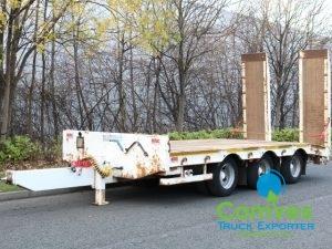 MAC 25T Drawbar Low Bed / Loader Plant Carrier For Sal Export Comvex UK