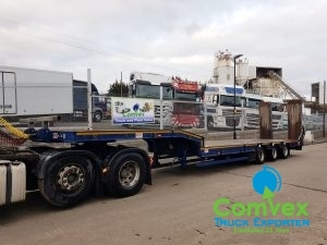 MAC 44T Low Bed Trailer 2015 For Sale Comvex UK Export