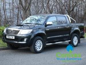 Toyota Hilux Invincible 3.0L D4D For Sale Export Comvex UK
