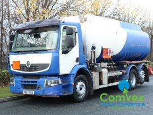 Volvo Premium 320 20,000L Fuel Tanker For Sale Export UK Comvex