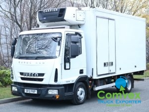 Iveco 75E16 Carrier Supra 550 Frdige Freezer Reefer For Sale Export Comvex UK