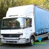Mercedes Atego 815 Curtainside (2005)