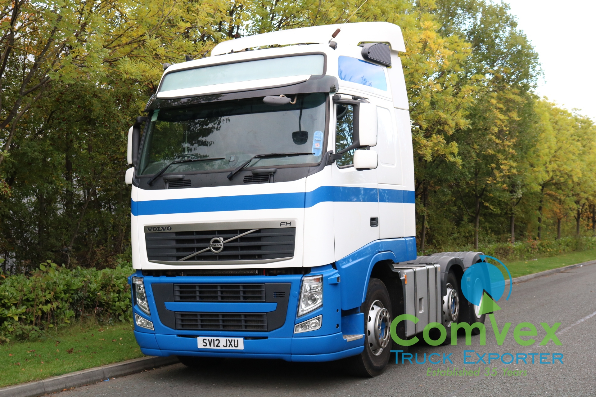 Volvo FH 500 6×2 GT Midlift Tractor (2012)