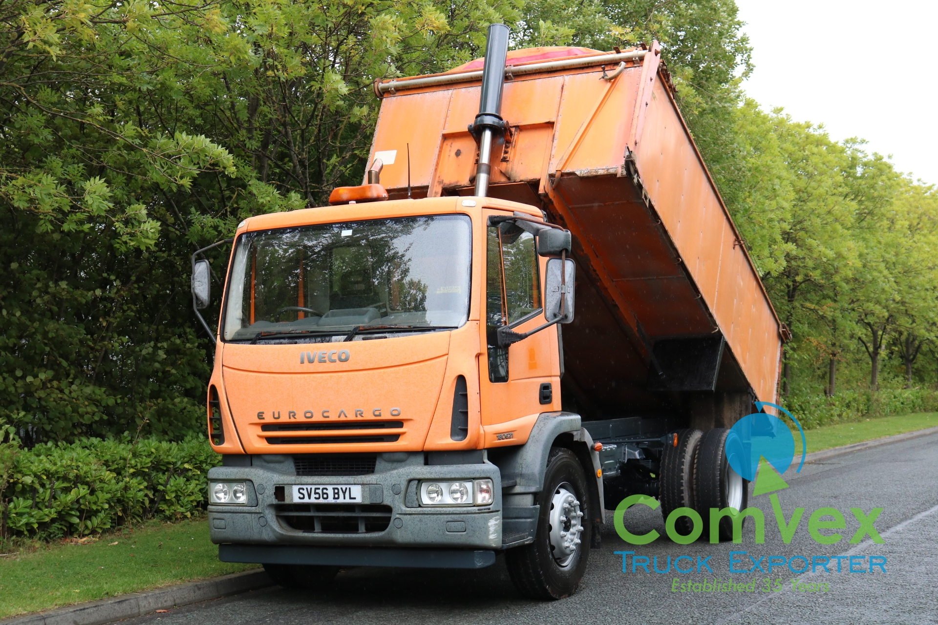 Iveco 180E21 4×2 Steel Tipper (2006)