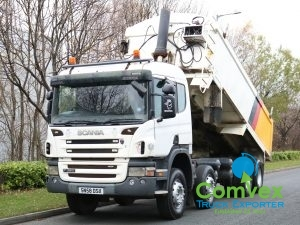 Scania P380 8x4 Alloy Insulated Tipper (2008)