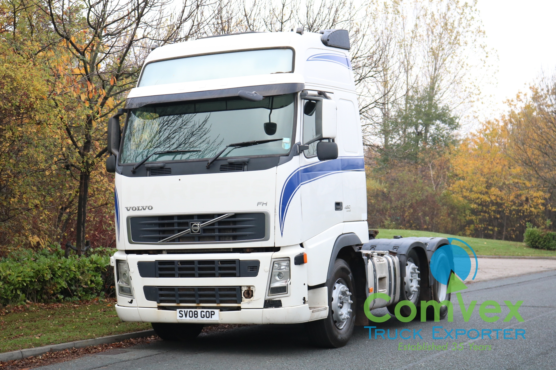 Volvo FH 480 6×2 GT Midlift Tractor (2008)