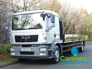MAN TGM 18.290 4x2 26Ft Dropside (2012)