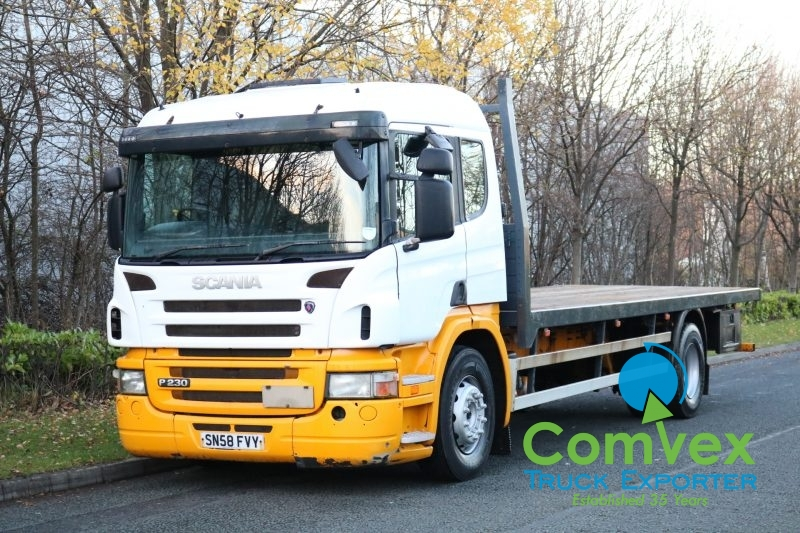Scania P230 4x2 24Ft Flatbed (2008)