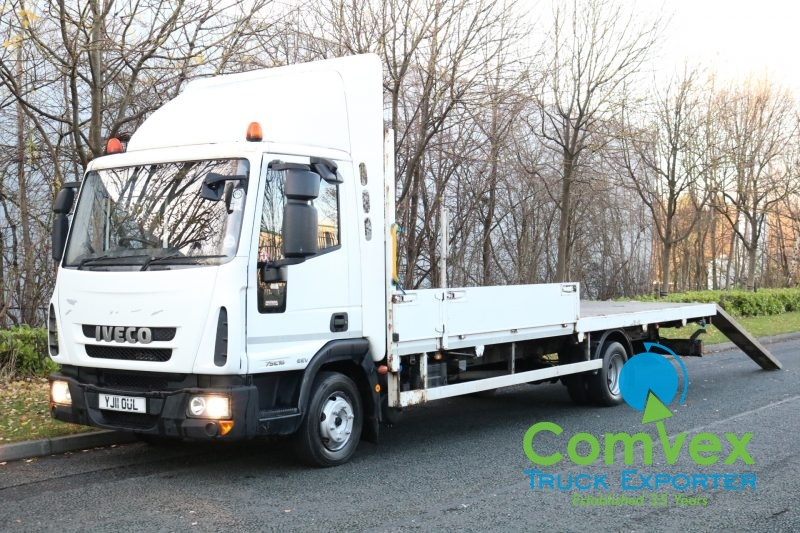 Iveco 75E16 Flatbed Winch Recovery (2011)