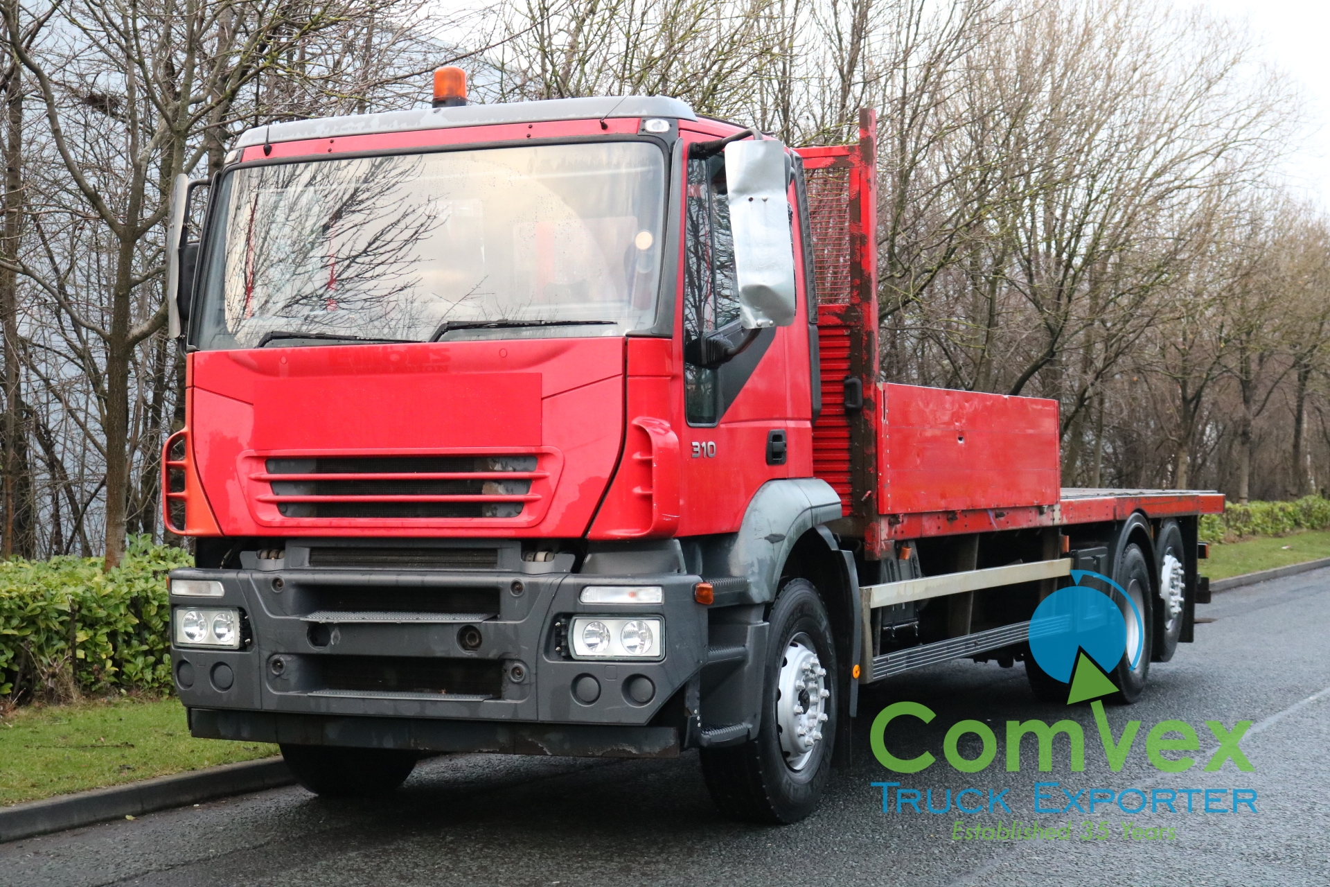 Iveco Stralis 310 6×2 Flatbed (2006)