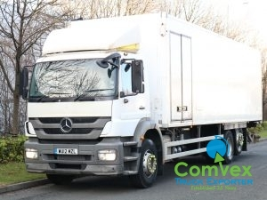 Mercedes Axor 2629 28FT Insulated Box Truck (2012)