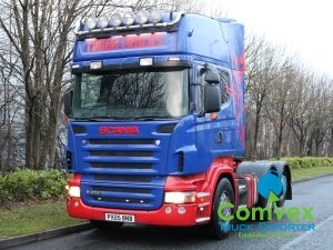 Scania R470 Topline Manual Rearlift Tractor (2005)