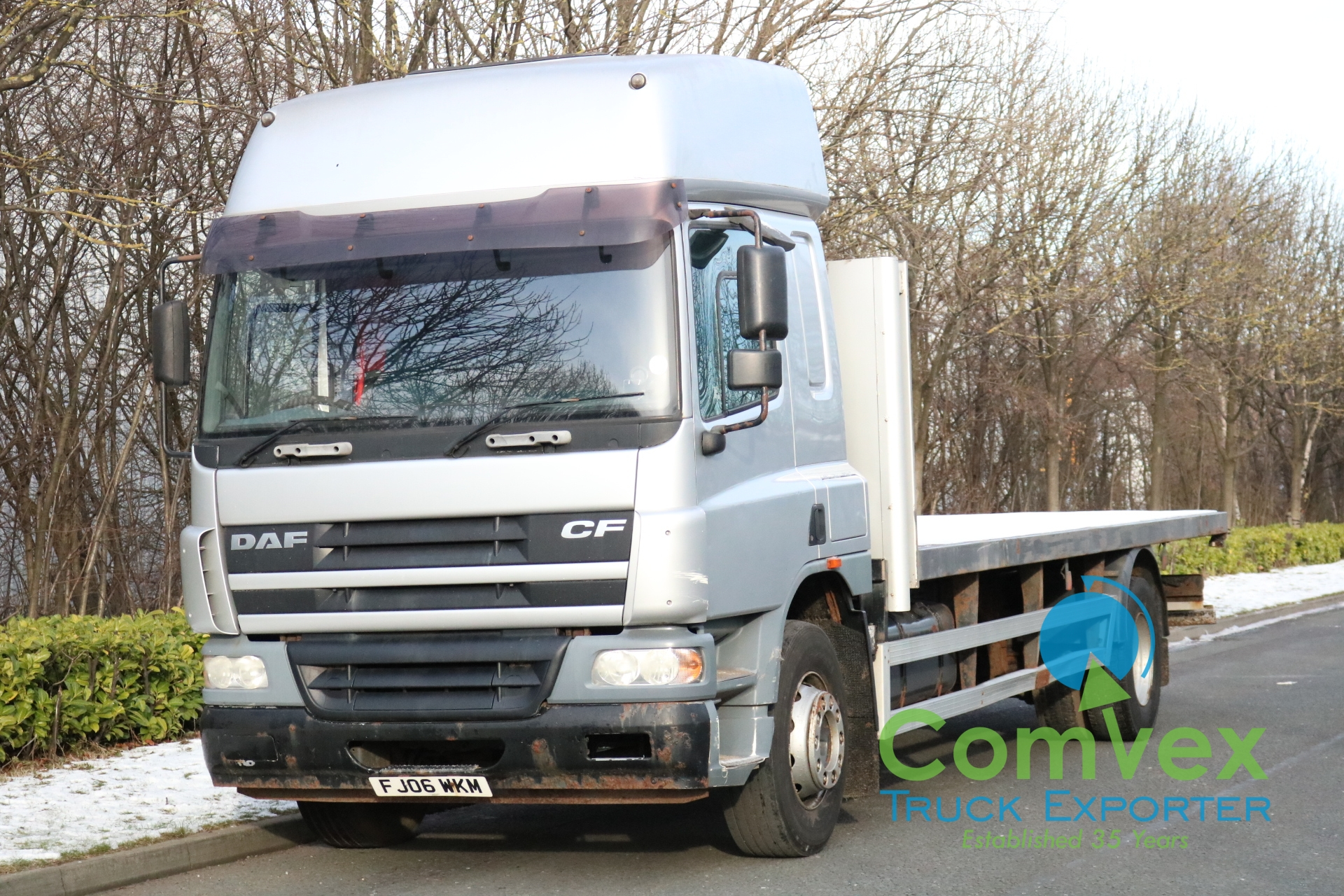DAF CF65.220 SPACECAB 25FT FLATBED (2006)