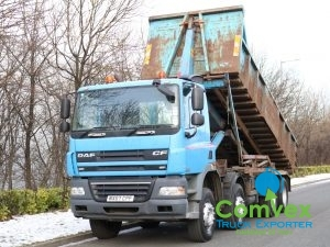 DAF CF85 360 8x4 Hyva Hook Tipper (2007)