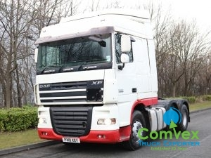 DAF XF 460 Manual Tractor Unit (2010)