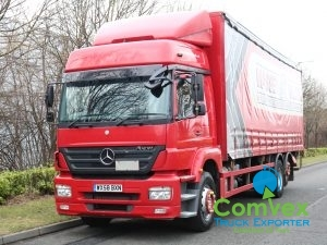 Mercedes Axor 2529 28Ft Curtainside (2009)