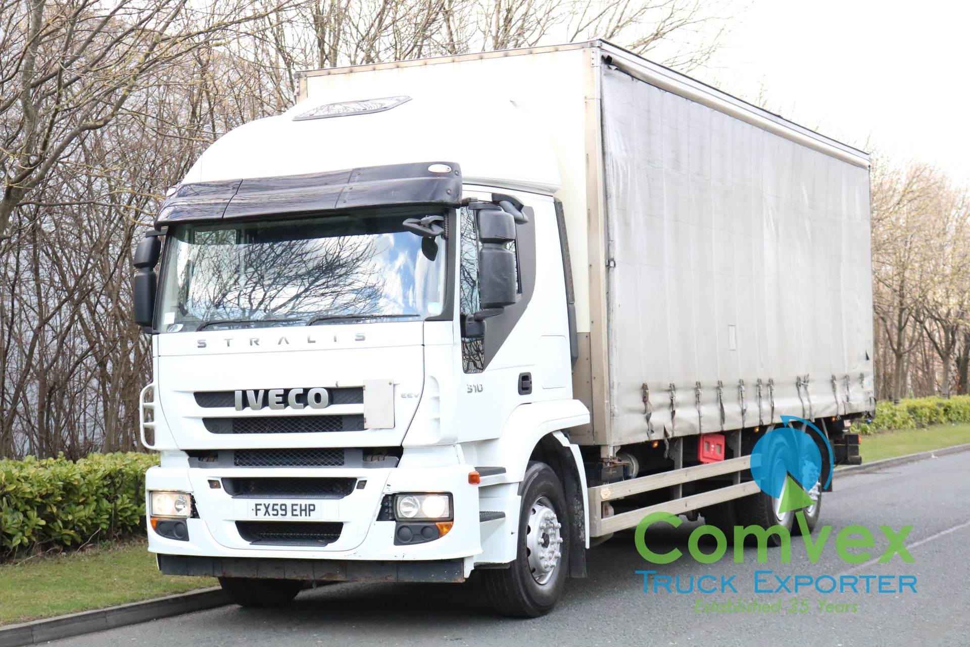 Iveco Stralis 310 6×2 Curtainside (2010)