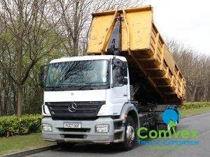 Mercedes Axor 2533 Steel Skip Tipper (2007)