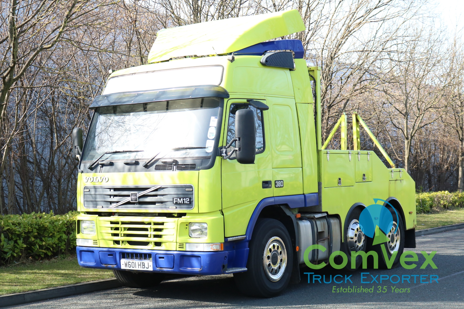 Volvo FM12 380 6×2 Recovery Tow Truck (2000)