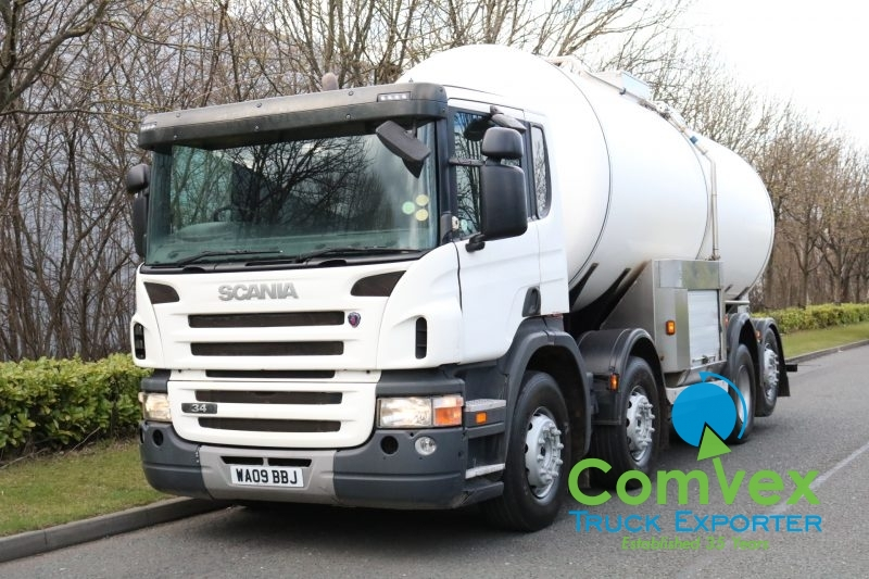 Scania P340 8x2 20,000L Stainless Tanker (2009)