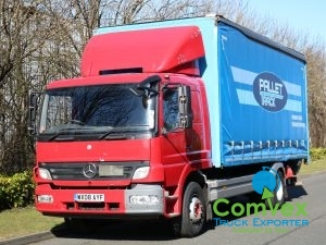 Mercedes Atego 1624 20Ft Curtainside (2008)