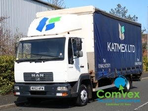 MAN LE8.150 4x2 Curtainside (2003)