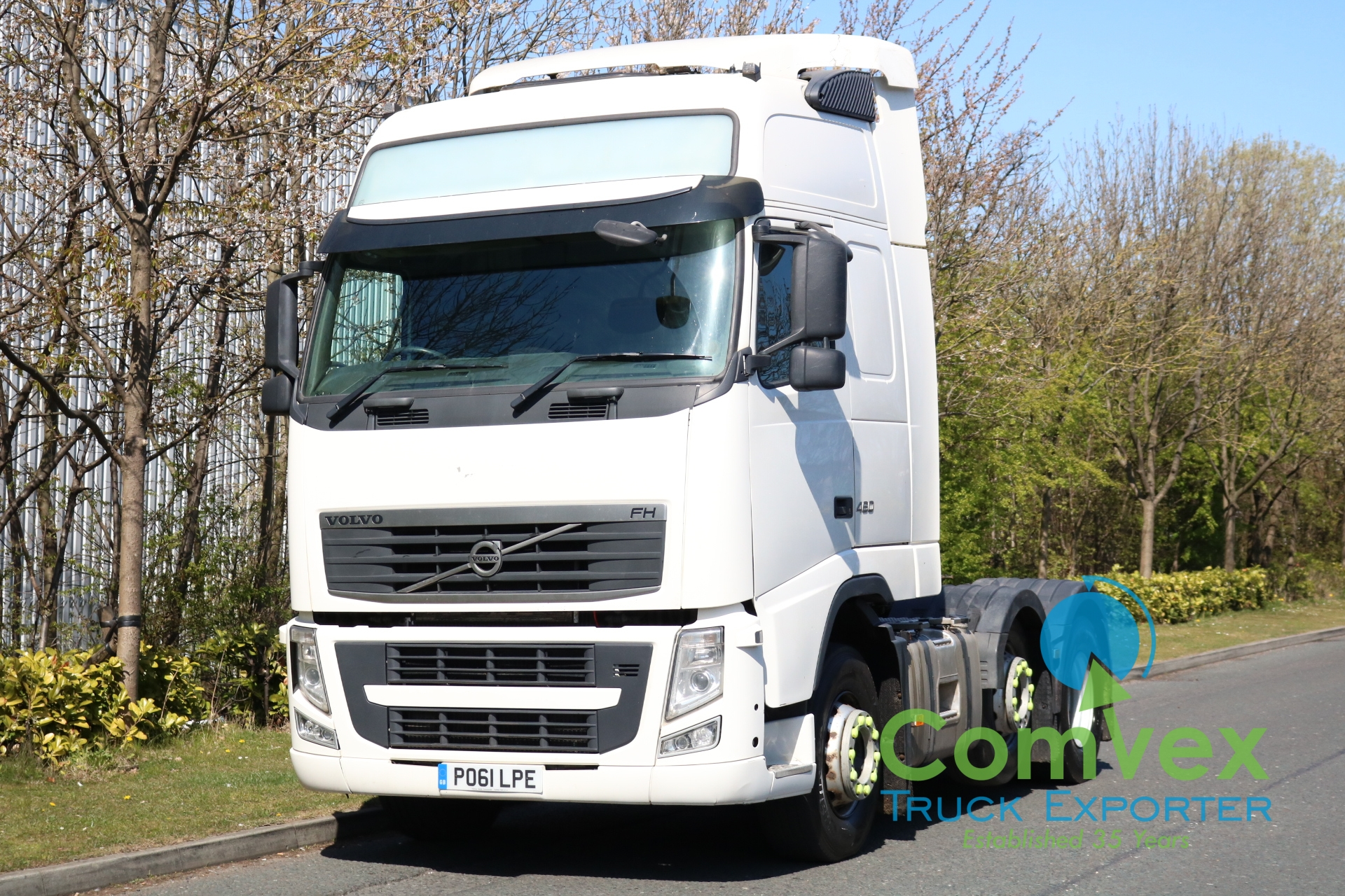 VOLVO FH 460 GT XXL 6×2 Midlift Tractor (2011)