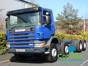 Scania 114.380 8x4 Chassis Cabin (2003)